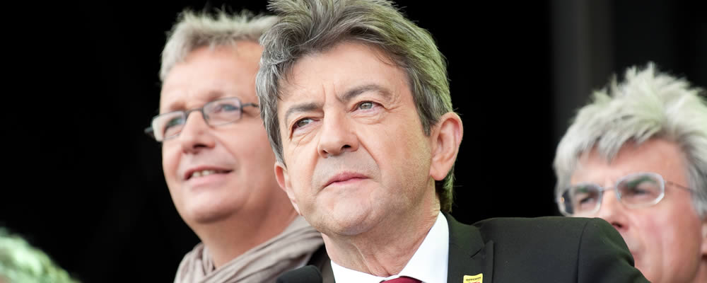 French candidate Jean-Luc Melenchon