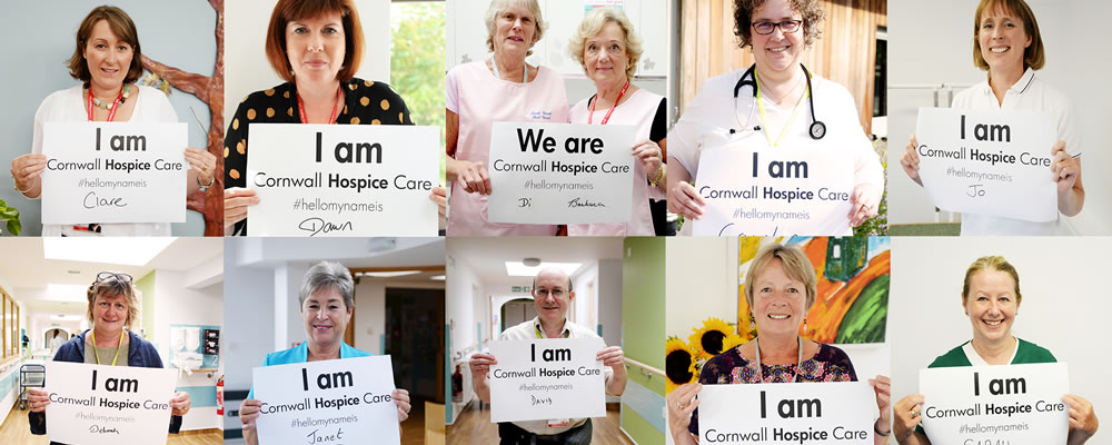 I am Cornwall Hospice Care montage