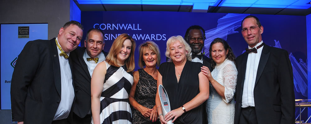TorFX win at the Cornwall Business Awards