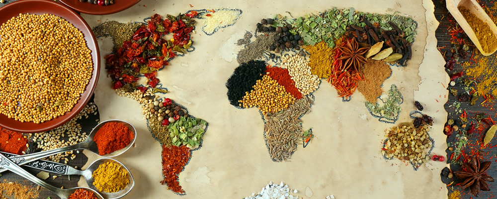 World in food