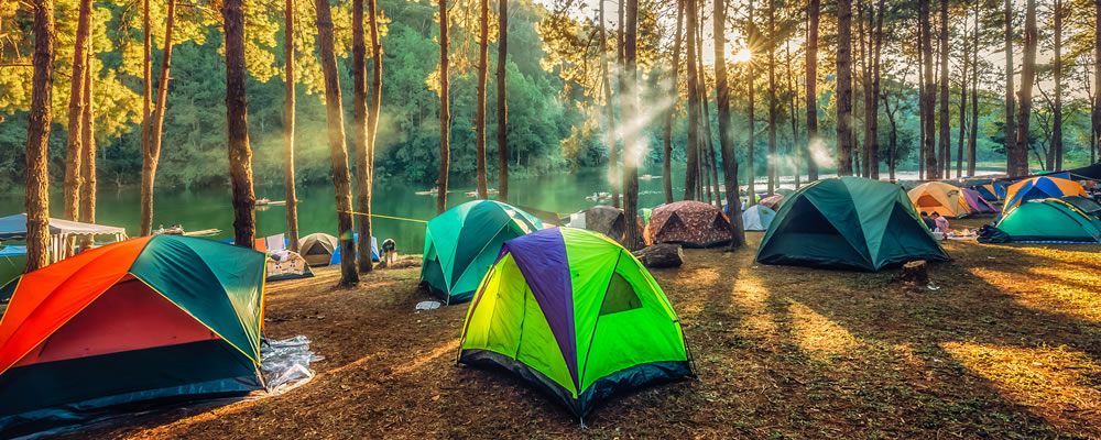 Camping in the UK and abroad